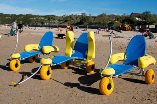 Sedia disabili spiaggia